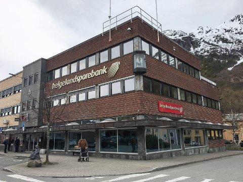 SPONSOR: Helgeland Sparebanks lokaler i Mosjøen