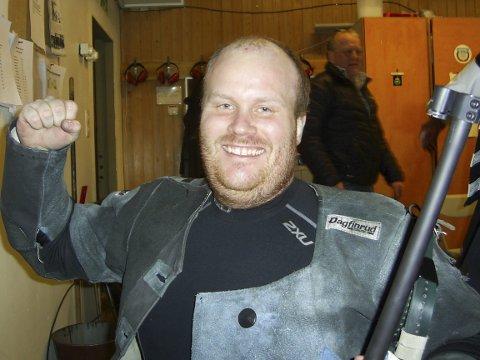 IMPONERTE: Erik Tangstad hadde en kjempehelg på skytebanen. Tre seire, og en fjerdeplass, med gode resultater.