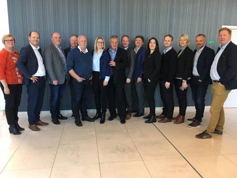 Flyplassalliansen: 14 kommuner var representert under stiftelsesmøtet på Gardemoen.