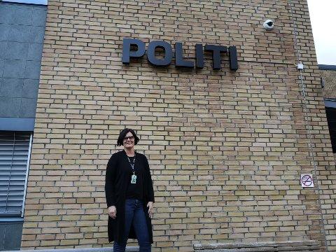 POLITIET: Christina Sørensen hos politiet har avhørt de aller fleste av barna som har vært utsatt for vold og overgrep på Helgeland.