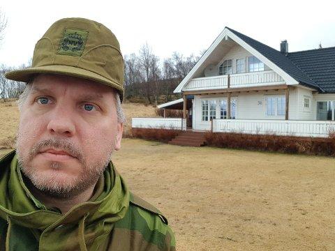 AKUTTMEDISIN: 1. vara til Storinget for Nordland SV, Marius Meisfjord Jøsevold, her fotografert i forbindelse med en militærøvelse.