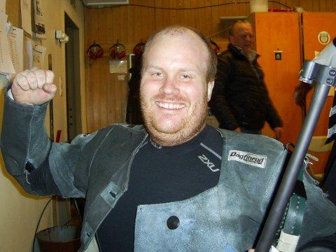 Erik Tangstad, Grane hadde en god konkurranse og skjøt 341 i Hattfjelldal.