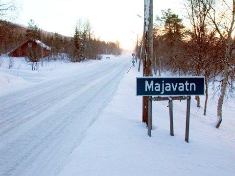 Langtangen ligger helt i sørenden av Majavatn.