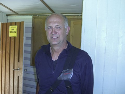 VANT: Torfinn Govassli vant V-55 i feltåpningen og han er leder for Øvre Velfjord skytterlag som skal arrangere samlagsstevnet til helga.
