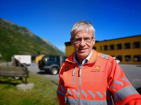 E6: Prosjektleder Bård Nyland i Statens vegvesen minner om at vanlig vedlikehold på det øvrige veinettet vil fortsette under ferien.