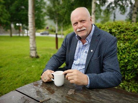 ORDFØRER: Jann-Arne Løvdahl mener Mosjøen er heldig stilt som har så mye industriareal å tilby næringa.