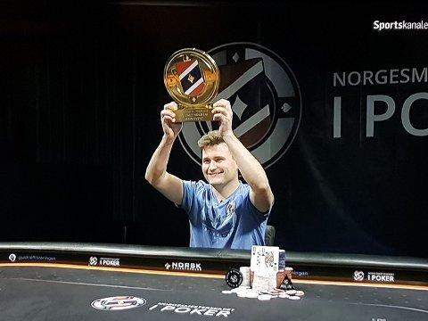 Vinner: Robert Kaggerud vant sin tredje NM-tittel. ARKIVBILDE fra fjorårets seier