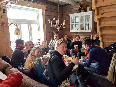Det var 30 besøkende med på aktivitetsdagen til vg1 naturbruk, noe som lover godt for høstens rekruttering.