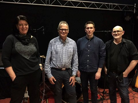 Fv. Åse Granmo, Gudmund Forsmo, Jan Øystein Rise og Jørn Ove Nygård utgjorde bandet.