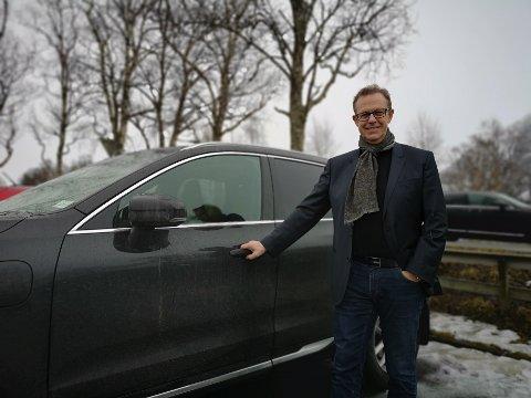 NÆRINGSLIVSLEDER:Håkon Johansen hilser en samfunnsanalyse velkommen, og advarer samtidig mot den hatske stemninga som har oppstått nord og sør for Korgfjellet.
