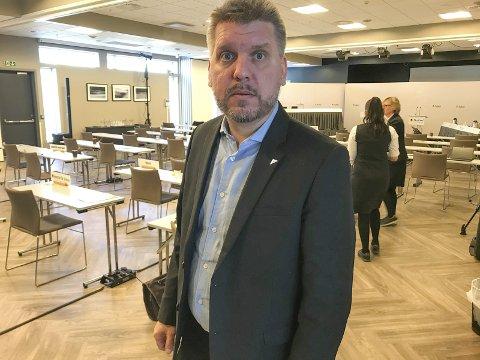 FRYKT: Marius Meisfjord Jøsevold (SV) er bekymret på Nesnas vegne etter at et utvalg ved Nord universitet skal se på universitetets studiestedsstruktur, Foto: Rune Pedersen