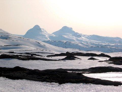 Finnknean i  Vesterfjella er i likhet med en rekke fjellområder  på NVEs nestenliste.