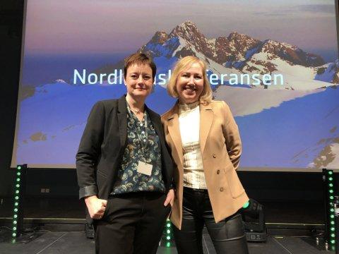 Seniorrådgiver i Brønnøysundregistrene Ann Kristin Johnsen og avdelingsdirektør i Brønnøysundregistrene Solveig Sverdrupsen.