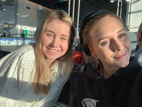Katarina Wulff Hansen og Maren Turmo er på vei til Gambia.