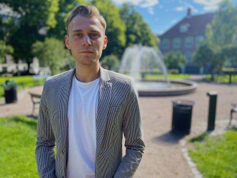 Sjokkert: Kommunikasjonsrådgiver i Ung i Trafikken, Henrik Pettersen Sunde, er sjokkert over at det er lov å kjøre elsparkesykkel i beruset tilstand i Norge.