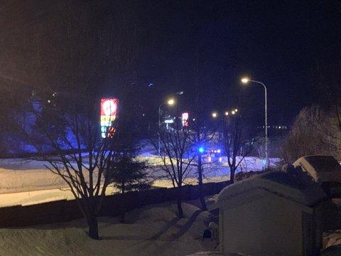 Seks personer var involvert i trafikkuhellet som skjedde på Gruben tirsdag kveld.