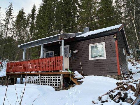Billigst: Hytta ved Ømmervatn, nord i Vefsn kommune er den billigste fritidsboligen listet på finn.no for hele Helgeland.