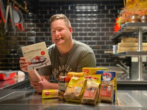 Nicolai Wahl (28) hjelper cøliakere med å finne gode, glutenfrie produkter.