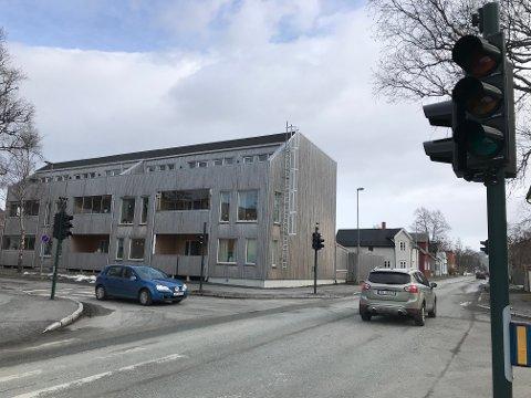 Lyskrysset i Tordenskjolds gate er mørkt