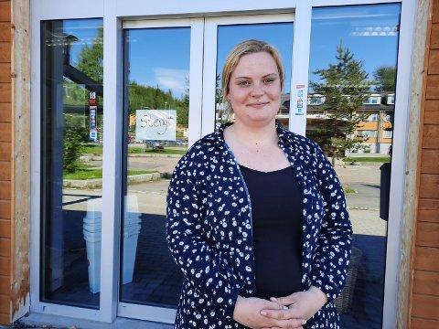 Ann-Louise Dahl kan snart ønske velkommen til et nytt spisetilbud i Hattfjelldal.