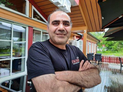 KURDEREN: Rahim Delal tilhører den forfulgte folkegruppa, kurderne, i Tyrkia. Han kjenner seg igjen i samenes kamp for å bevare eget språk og kultur.