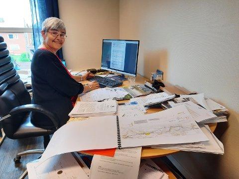 ORDFØRER: Ellen Schjølberg har en travel hverdag og mange jern i ilden etter at hun overtok som ordfører.