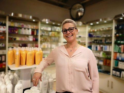 Nyetablering: Nina Johnsens parfymeri åpner dørene i Sandnessjøen i oktober, og er et av over 20 nye firmaer som ble oppretta i august.