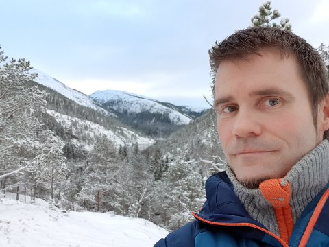 Bjørnar Aarstrand bor tett på Lomsdal/Visten nasjonalpark, og skal nå forvalte den.