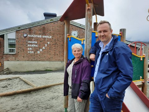 KULSTAD: Tone Moby Røreng og Rune Krutå er tilfreds med årsmøtets klare budskap.