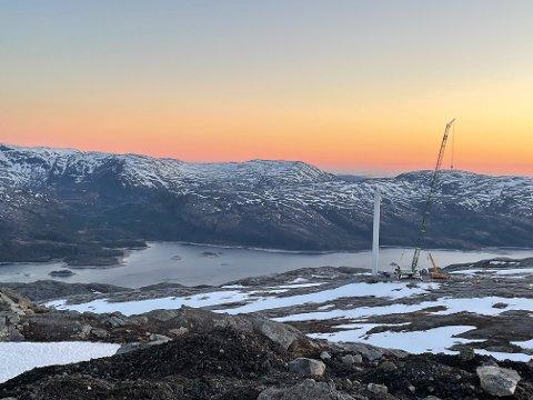 STRID: Det er fortsatt store meningsforskjeller om hvorvidt vindkraft er det rette for Vefsn. Nå er det travle tider på fjellet.