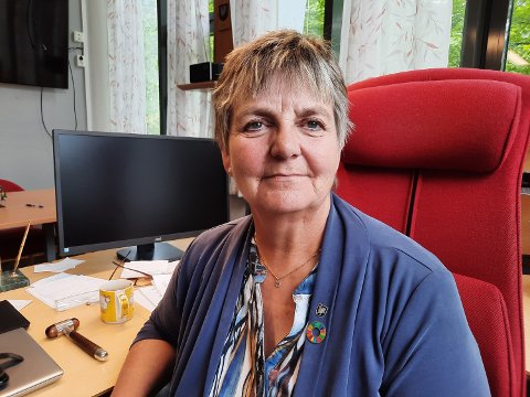 BESTEMT: Ordfører Berit Hundåla lover at hun vil holde denne saken varm i tida framover.