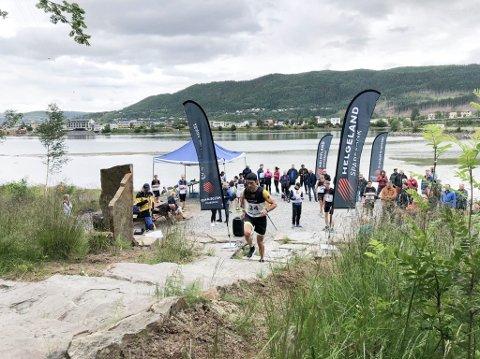FØRSTE GANG: I fjor ble Helgelandstrappa Opp arrangert for første gang som et testløp. Da var det 130 som deltok, og lørdag går det første offisielle trappeløpet.