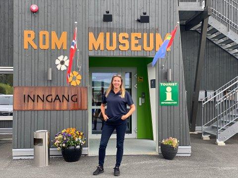 DRIVER: Theres Forsmo er nå driftsleder ved Fjellfolkets Hus. Hun kommer opprinnelig fra Stockholm, men har nå slått rot i Hattfjelldal.