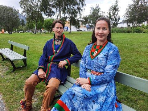 VALG: Ole-Henrik Lifjell fra Bleikvassli og Maja Kristine Jåma fra Fosen er henholdsvis andre- og førstekandidat på lista til Sametingsvalget.