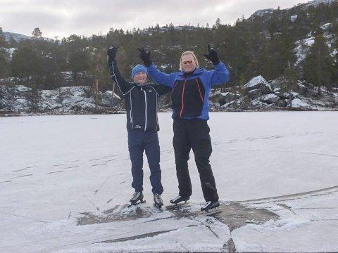 VETERANER: Kai Henning Skimelid og Karl Atle Johnsen. Foto: Tordis Romsdal