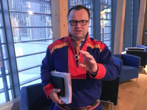 Plenumsleder Jørn Are Gaski