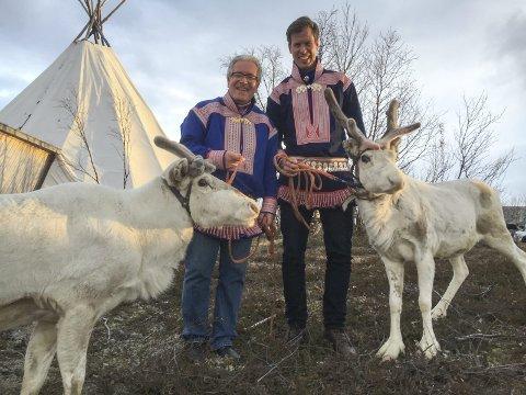 Davy Wathne og Jesper Mathisen Foto: Presse/TV 2