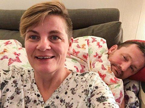 - Vi er ydmyke over alt engasjementet. Dette blir artig, sier Helene og Rolf Erling Heggem som er både nervøse, glade og veldig spente før lørdagen.