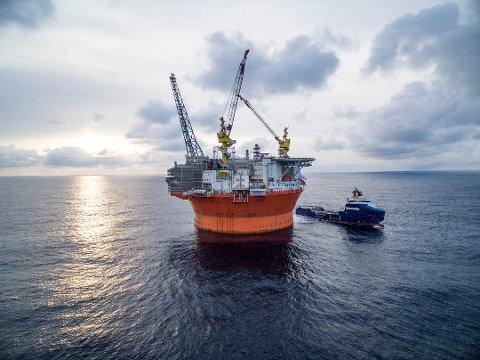 «ULØNNSOM»: Plattformen Goliat vil ikke bli lønnsom for Norge.
