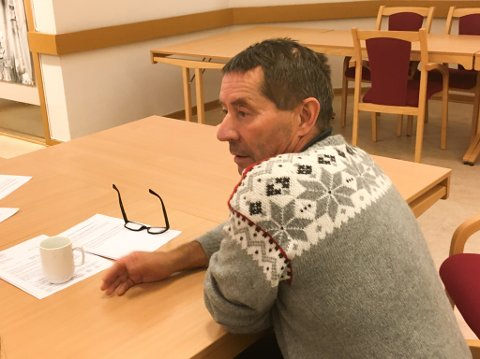 I VINDEN: Tidligere ordfører Knut Roger Hanssen (H), nå leder for Porsanger båtforening, er igjen i vinden.