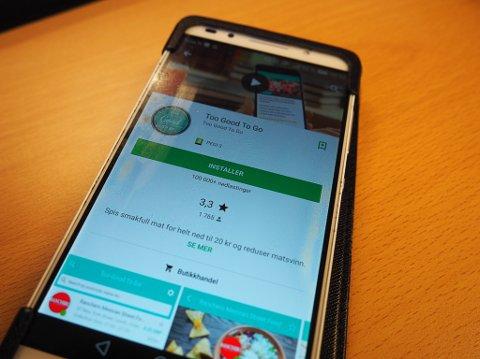 APPEN: «Too Good To Go»-appen har som mål å redusere matsvinn ved å hjelpe butikker, hoteller, bakerier og resturanter med å selge overskuddsmaten deres rimelig rett før stengetid.