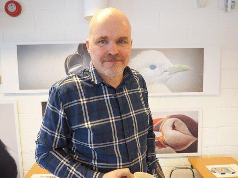 BESTE I LANDET: Ottar Zahl Jonasassen var veldig fornøyd med å få Arne Hjeltnes som foredragsholder for merkevarebygging.