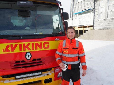 BILBERGING: Jan Petter Olsen (31) må være tilgjengelig 24 timer i døgnet når uhellet er ute.