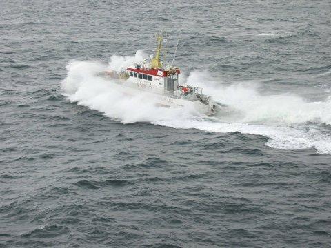 ROLIG PÅSKE: Til tross for mye aktivitet på havet, har det vært en rolig påske for mannskapet på «Gjert Wilhelmsen».