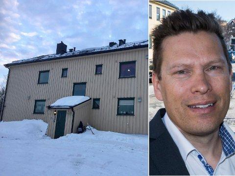 KOSTBART: Har du 1,2 millioner kroner til overs, kan du kjøpe en treroms i Sør-Varanger eller en fin garasje i Oslo. John-Kåre Olsen tror de høye storby-prisene vil dra opp nivået andre steder.