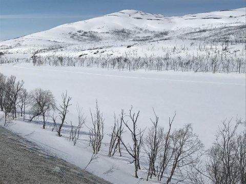 15. MAI: Slik var Repparfjordelva 15. mai.