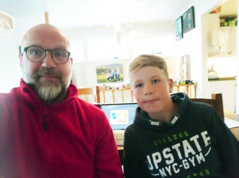 SNAKKET POLITIKK: Eilert Sundt fikk en ny innfallsvinkel på kommuenvåpen fra sønnen Baldrian (10)