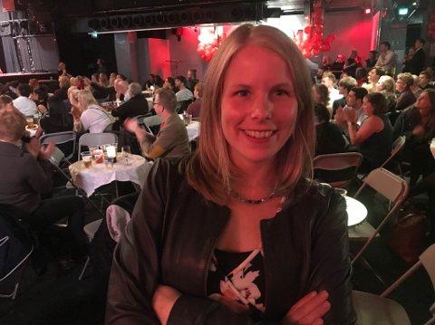 UTE: SVs Kirsti Bergstø er fornøyd med framgangen i partiet, men selv er hun nå ute av stortinget.