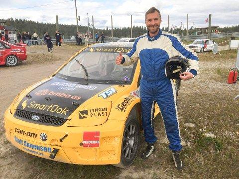 NY PALLPLASS: Bjørn Terje Heggeli var meget fornøyd med 2. plassen etter helgens NM-runde.