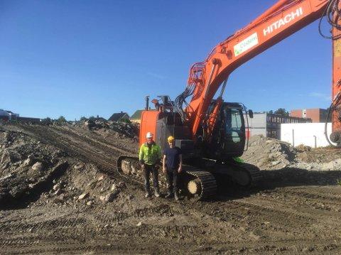 NYE EIERE: Codem AS fikk en god start da de startet sin virksomhet i 2015. Jobben som Ståle Koht Hansen og Thomas Gustavsen har gjort sammen med sine ansatte har blitt lagt merke til, og fra 1. november var de formelt kjøpt opp av en større Tromsø-entreprenør.